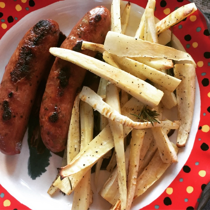 rosemary cumin parsnip fries