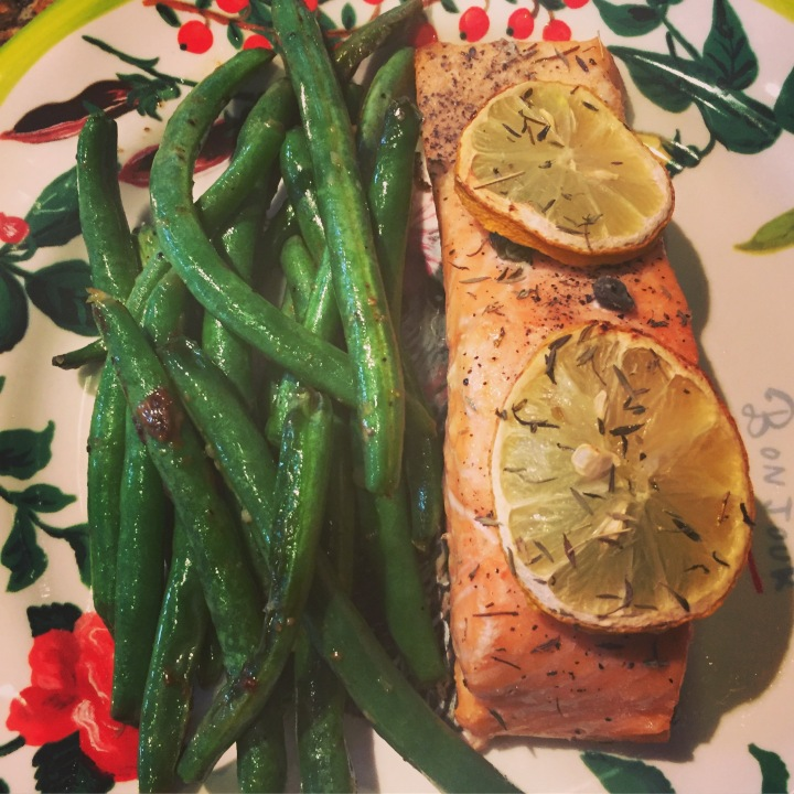 baked salmon with lemon and thyme.JPG